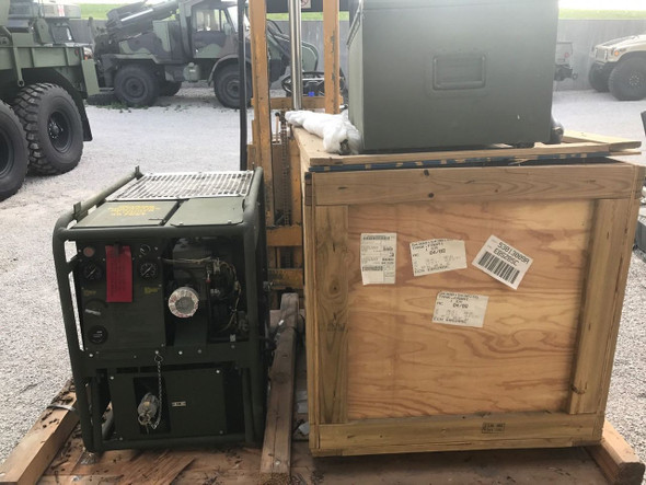 SOLD MILITARY SURPLUS DECONTAMINATING APPARATUS HOT WATER CLEANER PRESSURE WASHER