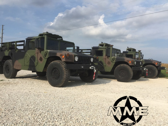 "2 Man 1/4"" Aluminum Roof Kit for HMMWV HUMVEE HUMMER H1 military m998"
