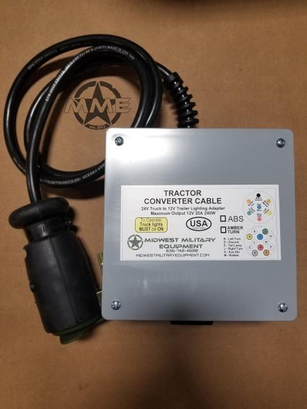 24v to 12v Semi Plug Light Converter