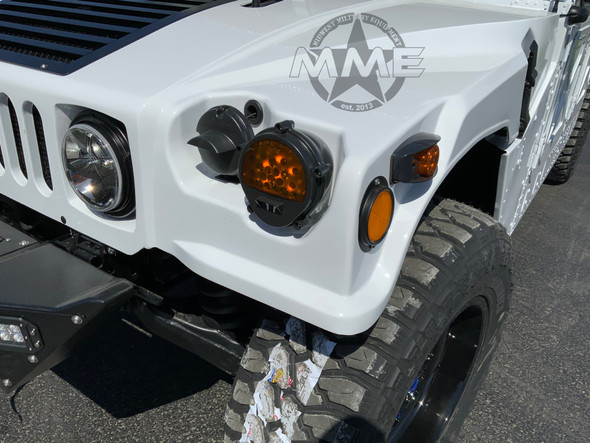 LED Light Conversion Kit With Buckets for HMMWV/ Humvee (Black)