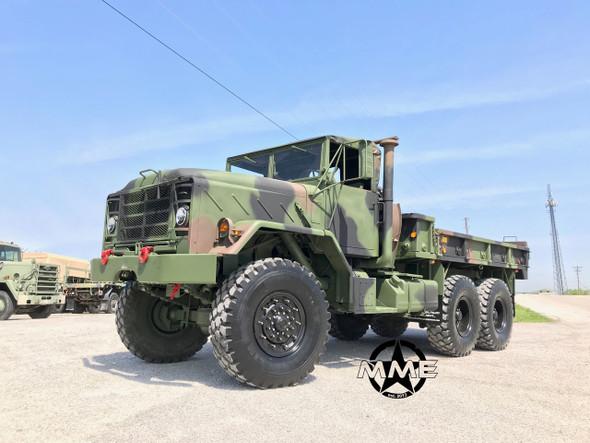 1991 BMY M923a2 5 Ton Military 6X6 Cargo Truck
