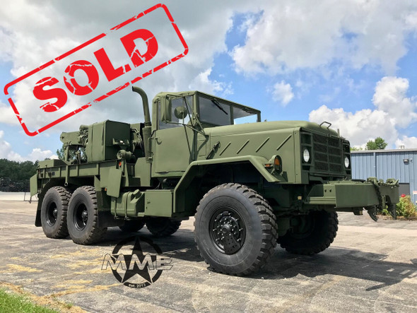 2013 M936A2 Military 6x6 wrecker  truck 35,000lbs winch