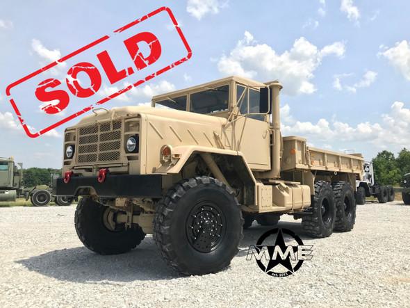 1990 BMY M923a2 5 Ton Military 6X6 Cargo Truck