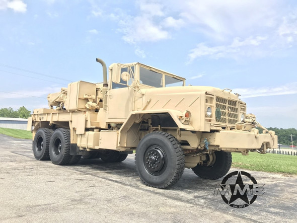 2004 M936 Military 6x6 wrecker crane truck 45,000lbs winch
