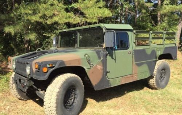 2 Man 1/4'' Aluminum Hard Top and Fiberglass Door Kit For Humvee