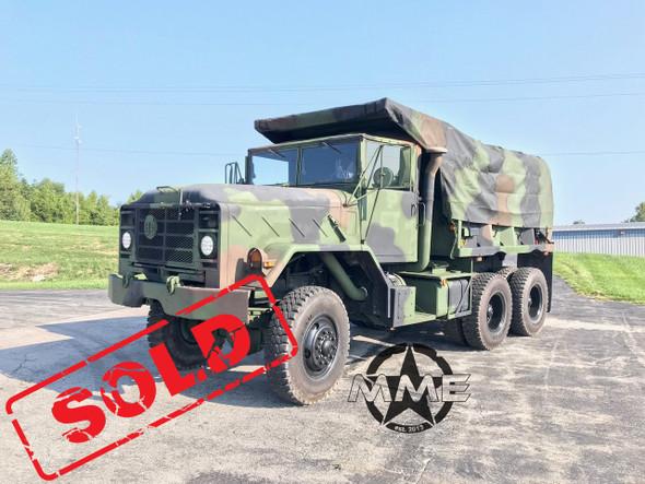 2005 Rebuild M929 Am General Military 6x6 Dump Truck