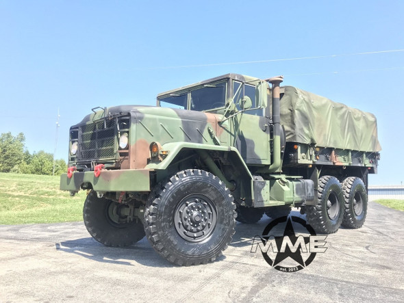 1991 Am General M923A2 5 Ton Military 6X6 Cargo Truck