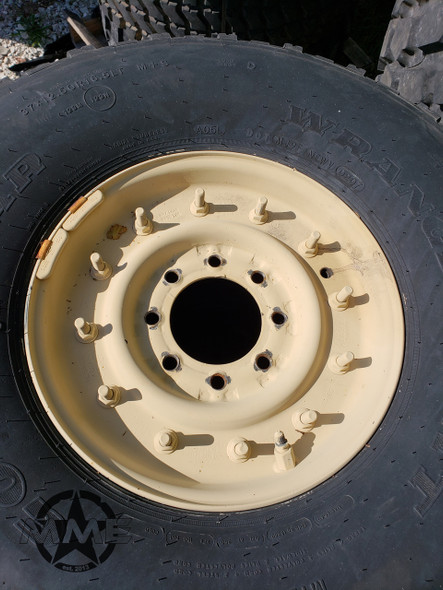 Used Humvee Rim and Tire Goodyear