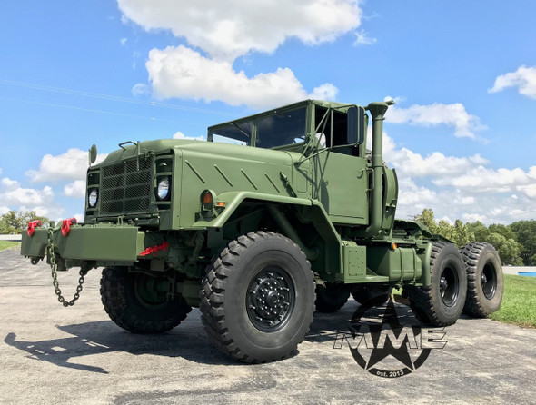 1991 BMY M932a2 Military 6x6 5 Ton Semi 20,000LB winch