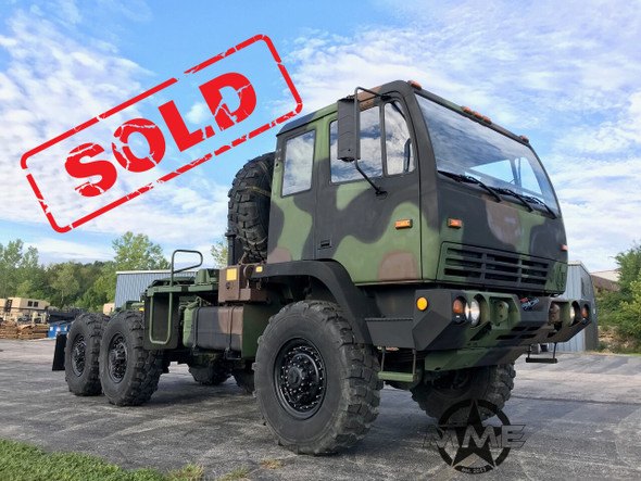 2001 Stewart & Stevenson M1088A1 5 Ton Military Semi Truck