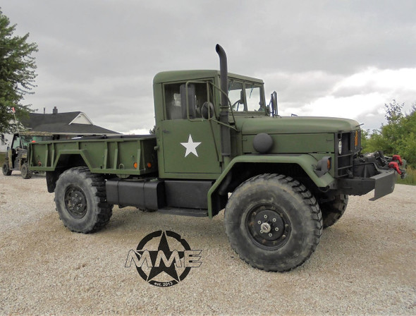 1985 Am General M35 Bobbed Deuce and a half