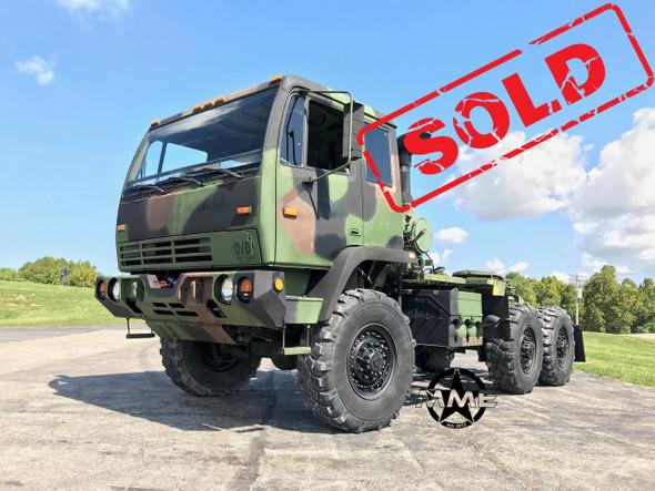 2001 Stewart & Stevenson M1088A1 5 Ton 6x6 Military Semi Truck