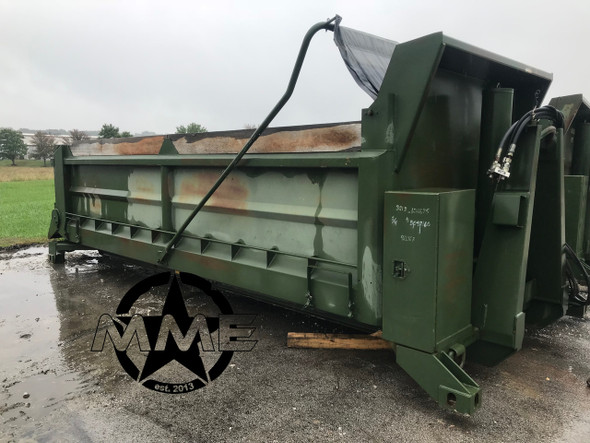 Self Contained Crysteel 17.6' Dump Body Designed For Hook Lift System