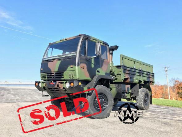 1994 Stewart & Stevenson M1078 4X4 2 1/2 Ton Cargo Truck