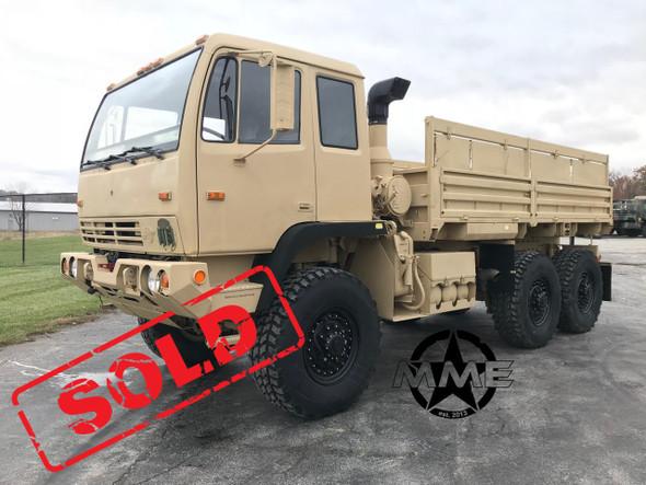 1999 Stewart & Stevenson M1083a1 MTV 6X6 W/ Winch 5 Ton Military Cargo