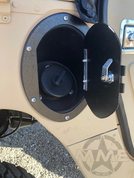 Locking Fuel Door For HMMWV/ Humvee/ H1/ Hummer