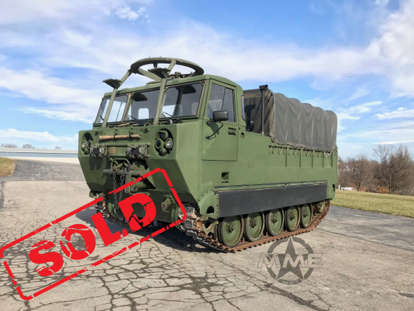 M548A1 Tracked Amphibious Cargo Carrier 6 Ton