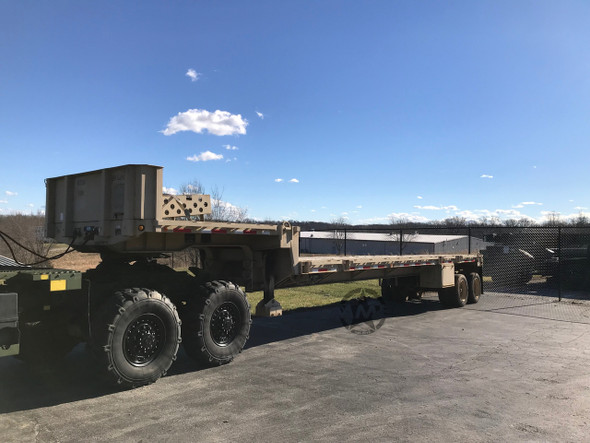 2009 Fontaine M871A3 Single Drop Deck Trailer