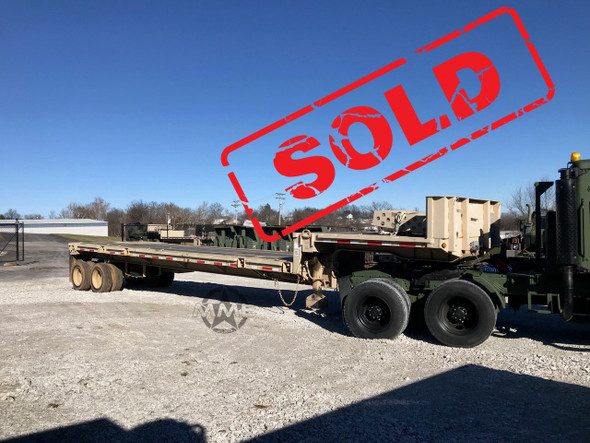 Fontaine M871A3 Single Drop Deck Trailer