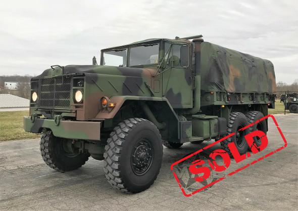 1985 M923A1 5 TON MILITARY 6 X 6 Cargo TRUCK