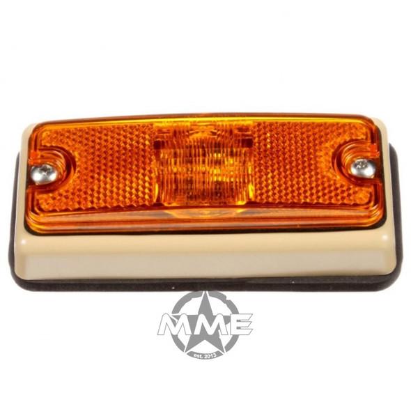 MILITARY LED YELLOW Marker LAMP W/ TAN BRACKET (New Style)