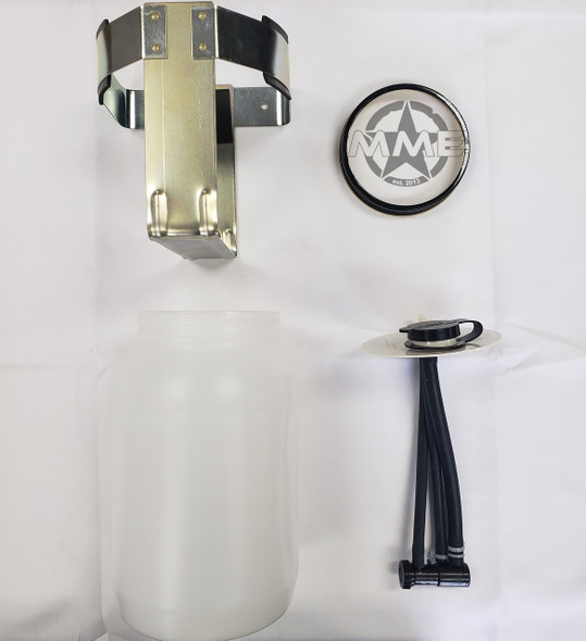 M939 and M915 Series WINDSHIELD WASHER BOTTLE W/ PUMP AND MOUNTING BRACKET