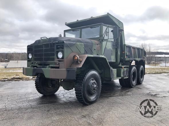 M929 Am General Military 6x6 Dump Truck