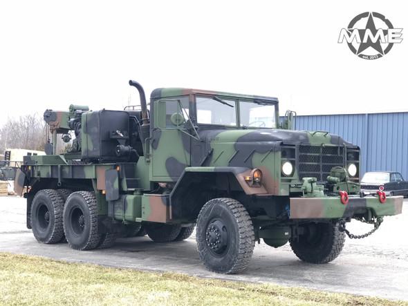 2009 Rebuild M936 Military 6x6 wrecker crane truck 35,000lbs winch