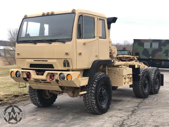 1995 Stewart & Stevenson M1088 Military MTV 6x6 Tractor Truck.