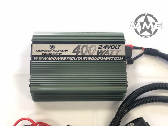 MME 24V 400 Watt Power Inverter With Nato Slave Plug
