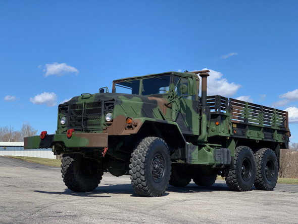 1986 Am General M925A1 5 TON MILITARY 6 X 6 Cargo TRUCK With Winch
