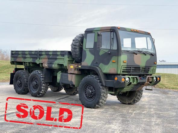2002 Stewart & Stevenson M1083a1 MTV 6X6 5 Ton Military Cargo