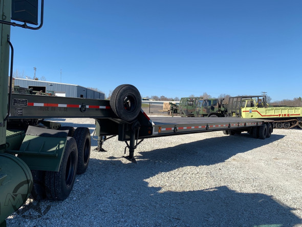 Military 20 Ton Drop Deck Trailer