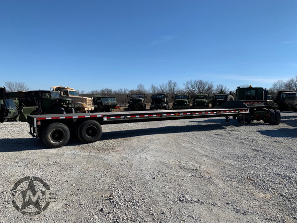 Military 20 Ton Drop Deck Trailer