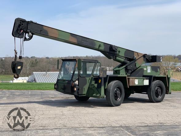 Koehring (TEREX) LRT 110 7.5 Ton Lifting Capacity 4X4 Rough Terrain Crane