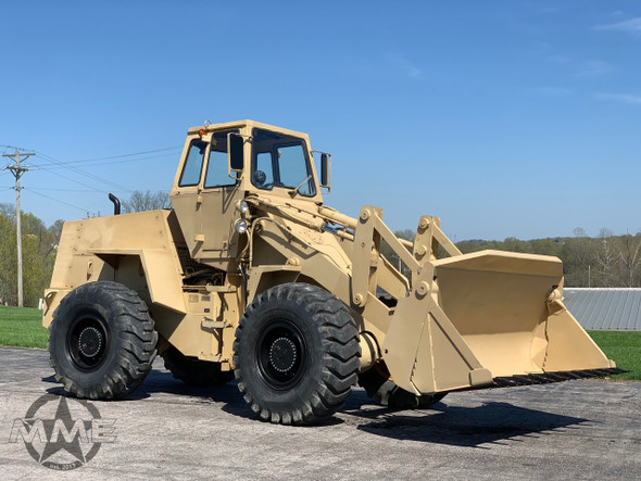 1985 W24C Case Military Wheel Loader 2.5 Yard Capacity