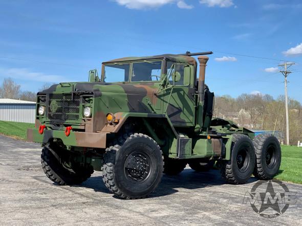 1990 BMY 5 Ton M931A2 MILITARY SEMI Truck Tractor 6X6