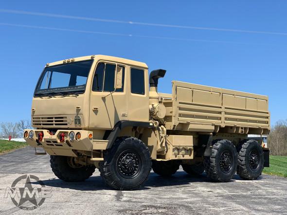 2000 Stewart & Stevenson M1083a1 MTV 6X6 W/ Winch 5 Ton Military Cargo