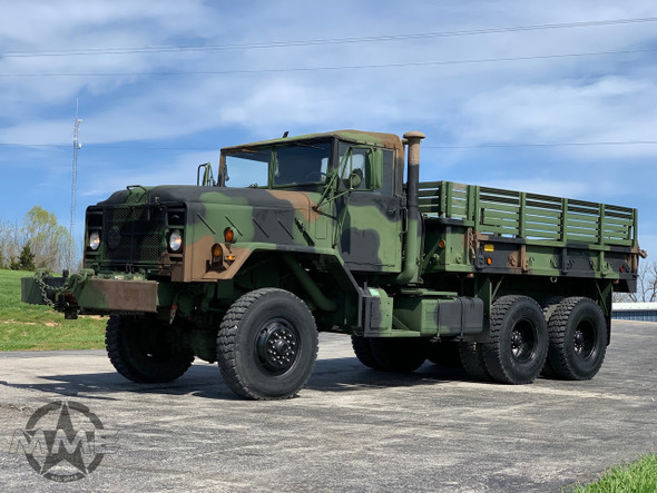 1983 Am General M925 5 TON MILITARY 6 X 6 Cargo TRUCK With Winch