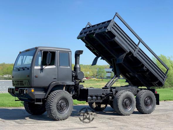 1996 Stewart & Stevenson M1083 MTV 6x6 Cargo Dump Truck