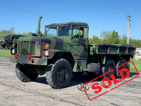 1993 Am General M35a3 2 1/2 Ton 6X6 Cargo Truck