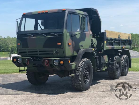 1997 Stewart Stevenson M1090 MTV 6x6 5 Ton Dump Truck