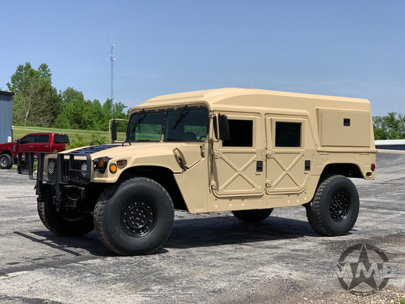 1988 Am General M998 Humvee / HMMWV Hard Top With Winch