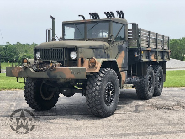 M35A2 2 1/2 Ton Cargo Truck W/ Winch & Hard Top