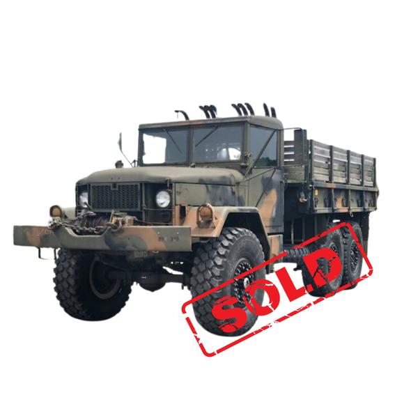 M35A2 2 1/2 Ton Cargo Truck W/ Winch & Hard Top