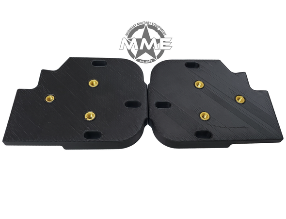 AFTERMARKET MIRROR ADAPTER PLATES For HMMWV/ Humvee (SET OF 2)