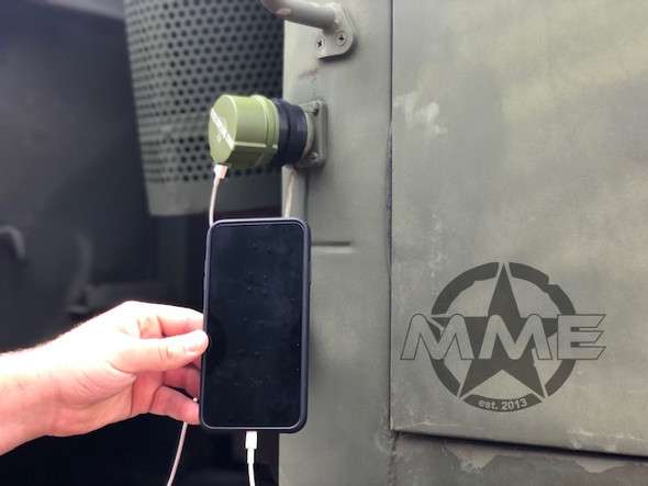 USB Nato Field Plug Charger