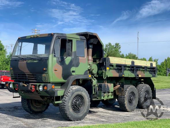 1994 Stewart Stevenson M1090 MTV 6x6 5 Ton Dump Truck