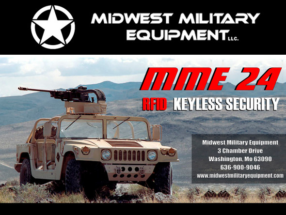 Keyless Security Module For Humvee HMMWV
