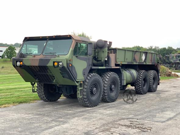 2005 Rebuild M977 Oshkosh HEMTT 8X8 Truck With Material Handling Crane